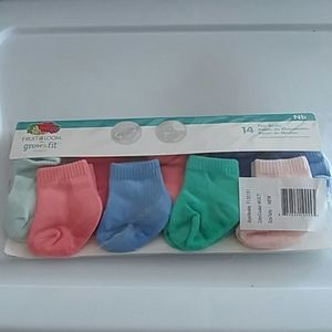 Baby socks pack 14 pair New